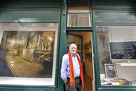 Fotograf Erich Lessing  eröffnet eigene Fotogalerie