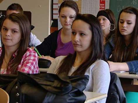 Schulklasse Mädchen