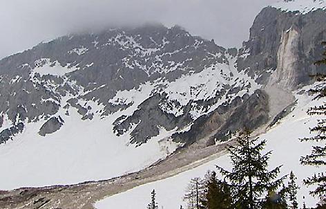 Felssturz Hochwand