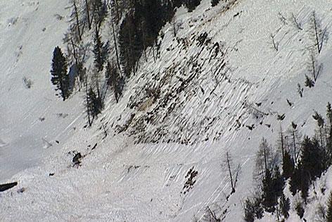 Lawine bei Neukirchen am Großvenediger, die sieben Schneeschuhgeher unter sich begrub