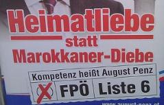 Wahlplakat FPÖ