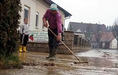 Unwetter Paldau Überschwemmungen
