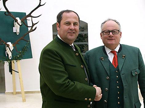 Christian Konrad und Josef Pröll