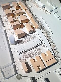 "Modell des Grazer ""Smart City""-Projekts"