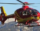 Rettungshubschrauber Notarzthubschrauber Alpin Heli 6 Zell am See Schider Helicopter Flugrettung Taubergung Hubschrauber Helikopter