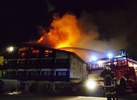 Pfunds Großbrand In Hotel Tirolorfat