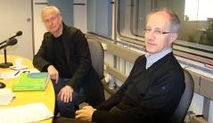 Architekt Carlo Baumschlager, Helmut Krapmeier Spezialist für Passivhaus und Solar-Architektur beim Energieinstitut Vorarlberg