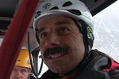 Günther Pischelsberger, Bergrettung Villach, Bergung aus Gondel am Dobratsch, Übung