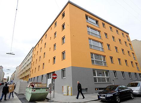 Das neue Heim der Flüchtlingshelferin Ute Bock in der Zohmanngasse in Wien Favoriten aufgenommen am Montag, 16. April 2012.