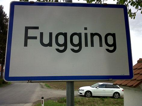 Fugging Ortstafel