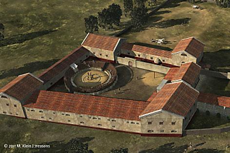 Modell Gladiatorenschule