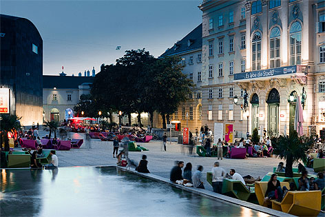 Sommer im Museumsquartier