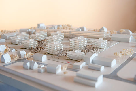 """Entwurf des Stadtteilprojekts """"Graz-Zentrum Reininghaus Süd"""""""