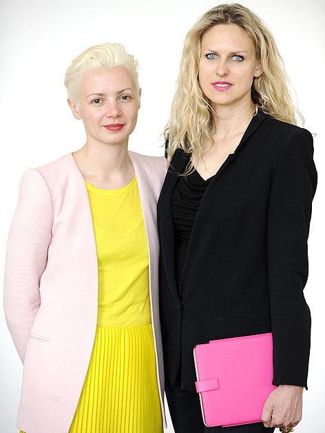 Die neuen künstlerischen Leiter der internationalen Kunstmesse Viennafair, Christina Steinbrecher und Vita Zaman