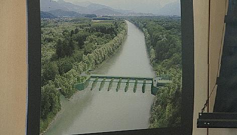 Kraftwerksprojekt Antheringer Au - Modell - Simulation