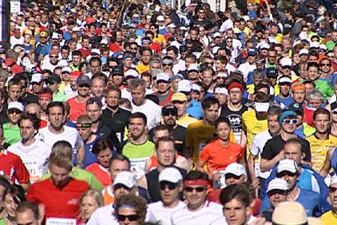 Starter beim Salzburg-Marathon