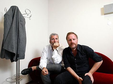 Dirk Stermann (l.) und Christoph Grissemann