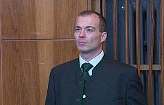 Franz Radl im Grazer Straflandesgericht