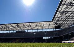 Das Stadion von Red Bull Salzburg in Wals-Kleßheim