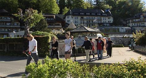 Wellness Nordic Walken Tourismus Kur Fuschl