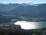 Fuschl und Fuschlsee im Salzburger Flachgau bzw. Salzkammergut.