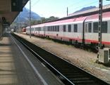 Zug Bahnhof Villach