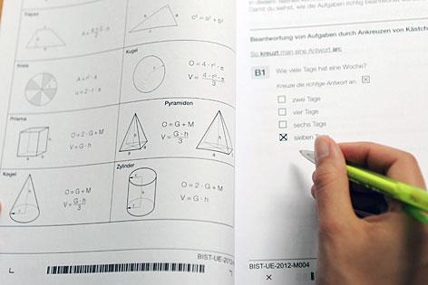 Bildungsstandard-Test in Mathematik