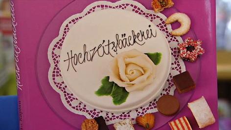 Hochzeitsbäckerei-Buch