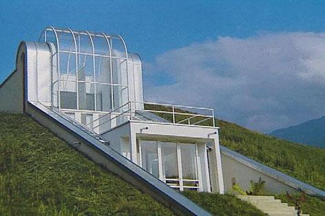 Einfamilienhaus in Hanglage von Architekt Horst Parson