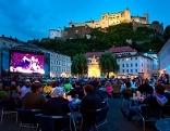 Die Siemens Festspielnächte auf dem Kapitelplatz in der Stadt Salzburg