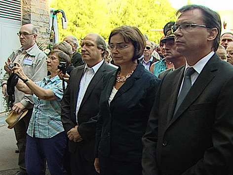 Politiker Gedenkveranstaltung Loiblpass KZ Loibl Nord