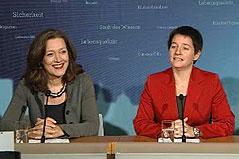 Sigrid Pilz und Sonja Wehsely