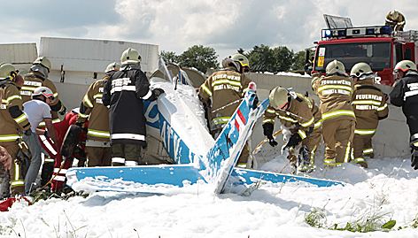 Cessna crasht bei Straßwalchen