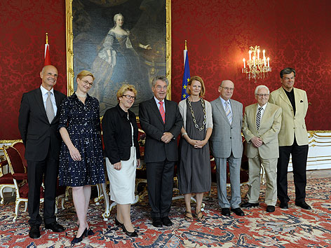 Klasnic-Kommission bei Bundespräsident Heinz Fischer