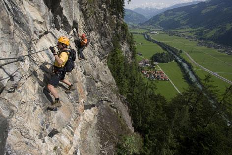Klettersteig Für Anfänger : Klettersteig in mayrhofen radio tirol