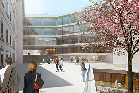 Schaubild neues Landesgericht Salzburg