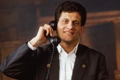 Franz Posch im Anzug 1988