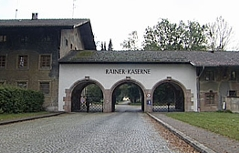 Die Rainer-Kaserne in Elsbethen-Glasenbach