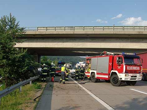 Unfall Knoten Villach
