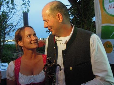 Otto Knaus mit seiner Frau Beate