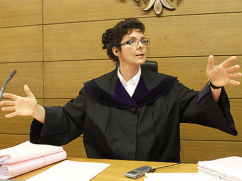 Richterin Michaela Sanin