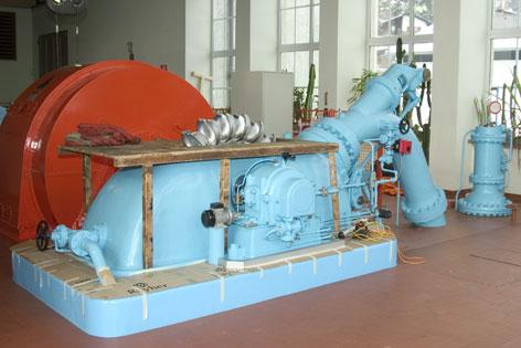 Trinkwasserkraftwerk und Trinkwasserstollen in Mühlau