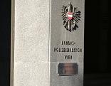 """Schild """"Bundespolizeidirektion Wien"""""""