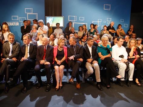 Ehrengäste Eröffnung TDDL 2012