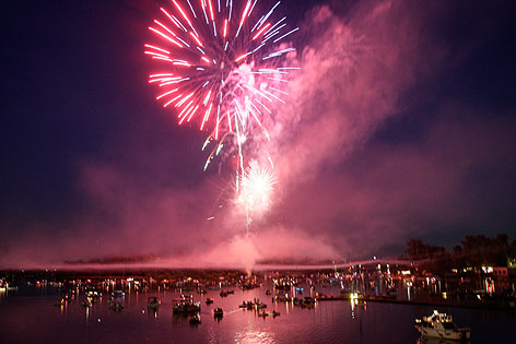 Lichterfest Alt Donau