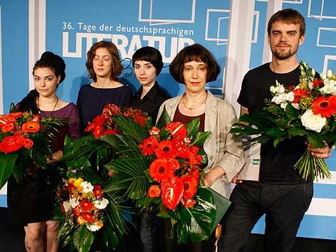 Gruppenfoto Preisträger TDDL 2012