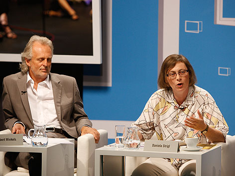 TDDL 2012 Hubert Winkels Daniela Strigl