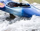 Kajak im Wasser