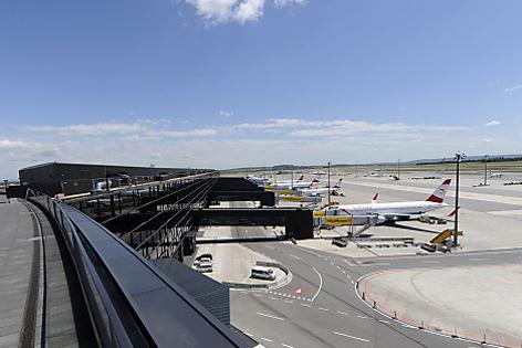 Flugfeld am Flughafen Schwechat, Gebäude Check-In 3