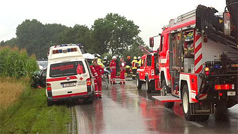 Verkehrsunfall bei Pasching